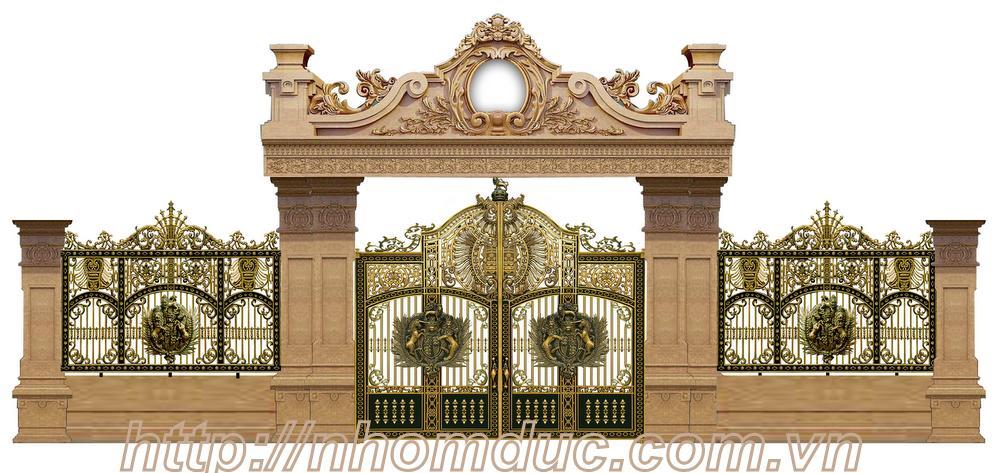 Báo giá hàng rào nhôm đúc hợp kim, giá hàng rào nhôm đúc, báo giá các loại mẫu hàng rào nhôm đúc