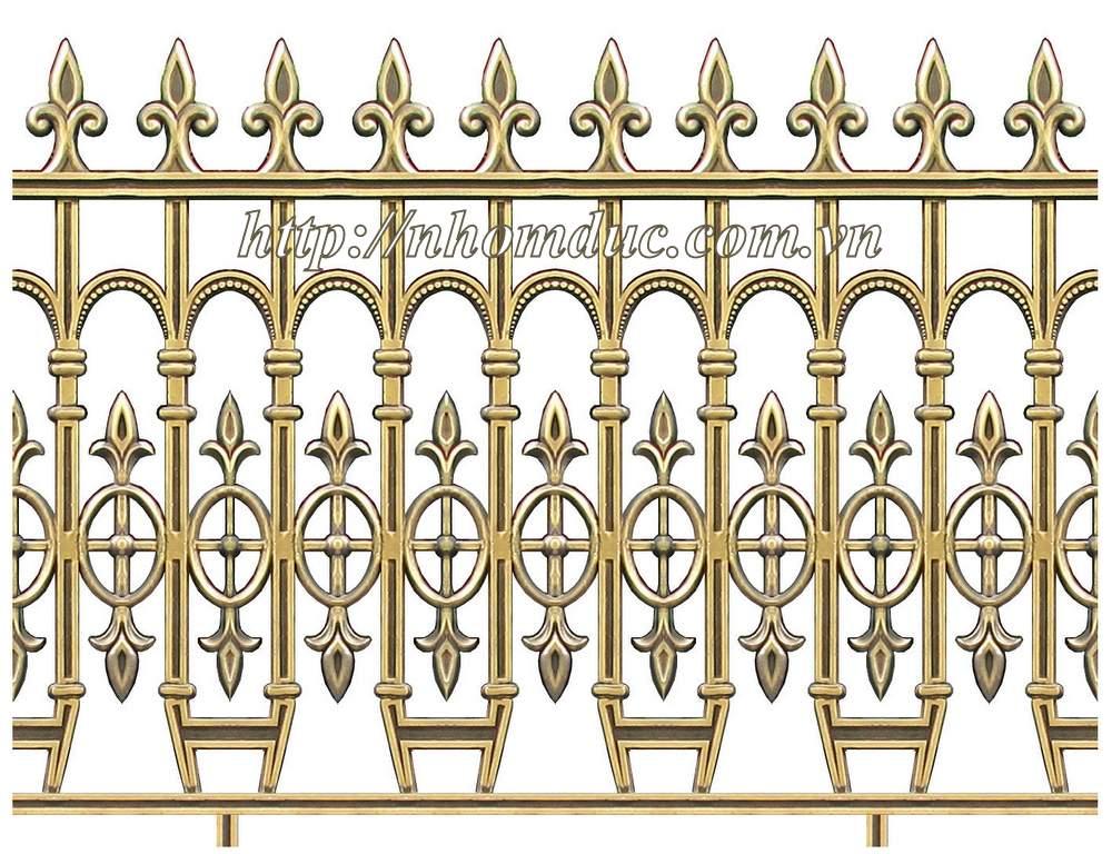 báo giá các loại mẫu hàng rào nhôm đúc hợp kim với nhiều mẫu mã hàng rào đa dạng nhất