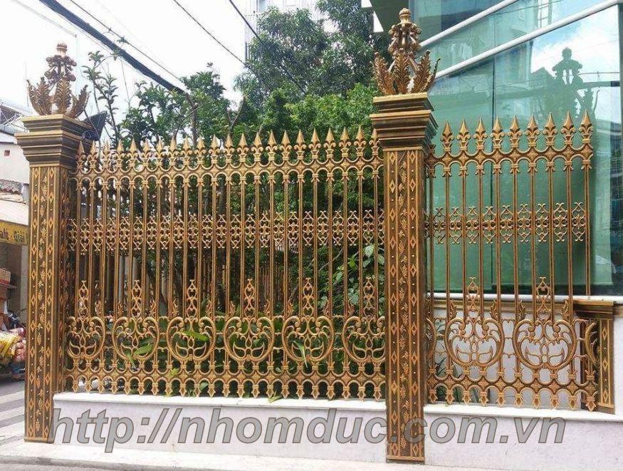 Hàng rào nhôm đúc tại Hà Nội