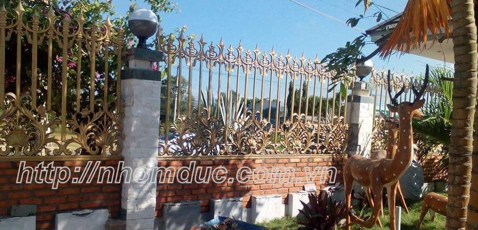 Hàng rào hợp kim nhôm đúc ( hàng rào nhôm đúc , hàng rào đẹp , hàng rào )