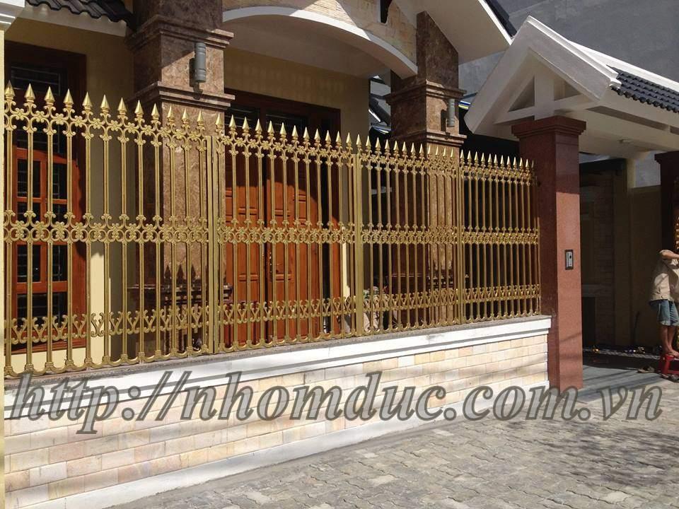 với nhiều mẫu cổng nhôm đúc, cửa nhôm đúc đẹp và hàng rào, lan can, ban cổng