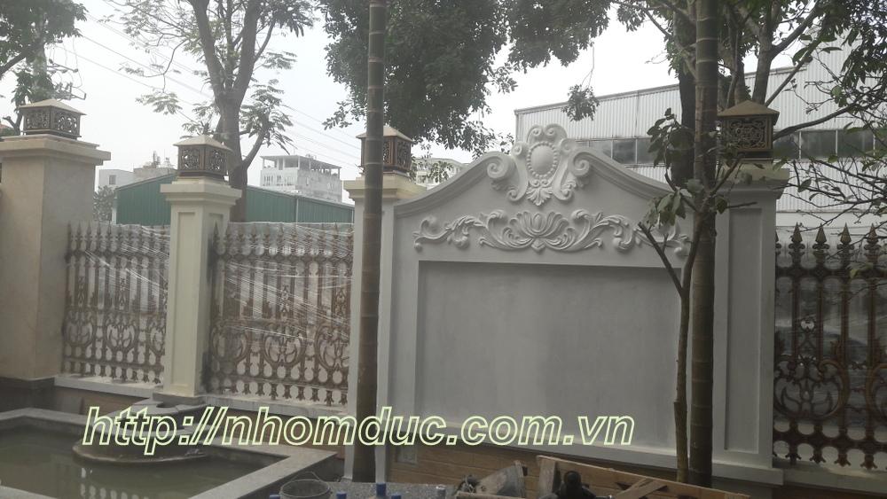 Hàng Rào hợp kim nhôm đúc đặc