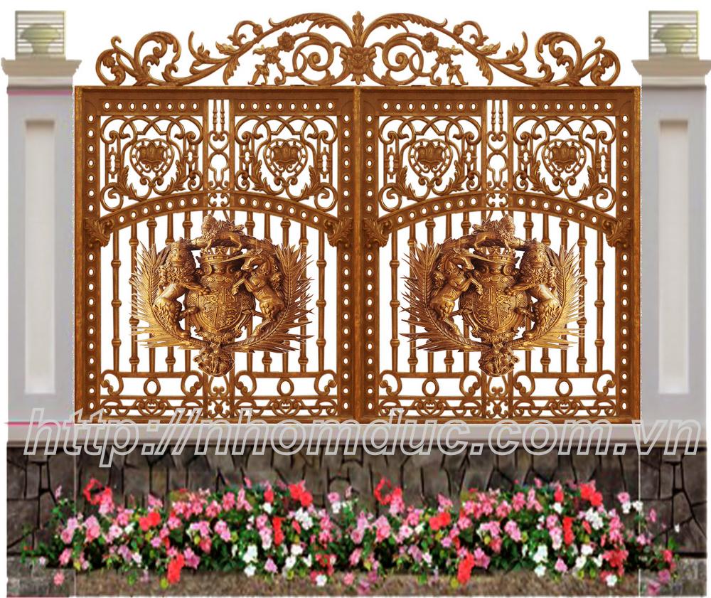 Báo giá hàng rào nhôm đúc, giá hàng rào nhôm đúc, các mẫu hàng rào nhôm
