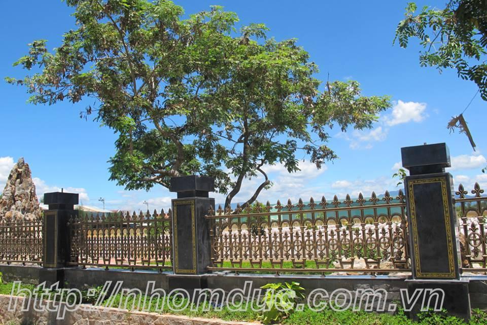 Hàng rào nhôm đúc cho Biệt thự nhà vườn, Cổng nhôm đúc hợp kim