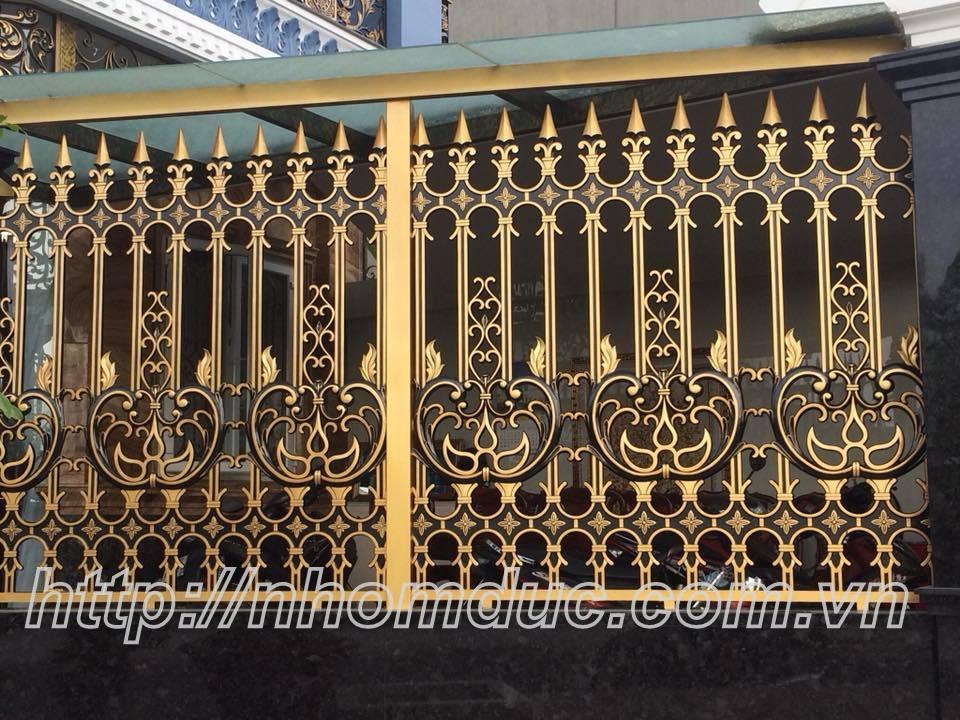 Hàng rào hợp kim nhôm đúc, xu hướng mới ở thời hiện đại