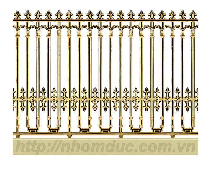 Báo giá hàng rào nhôm đúc hợp kim, giá hàng rào nhôm đúc, báo giá các loại