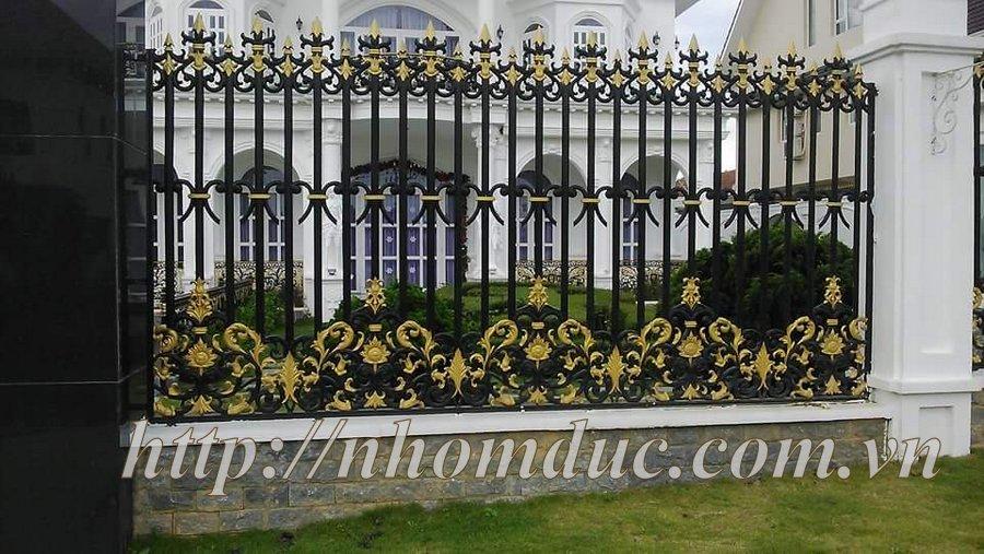 Hàng rào hợp kim nhôm đúc thương hiệu