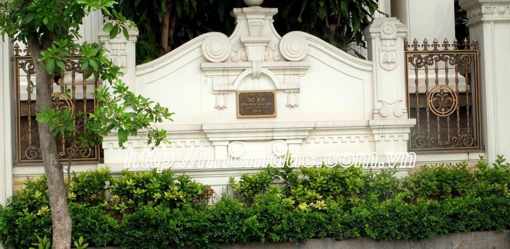 Hàng rào hợp kim nhôm đúc ( hàng rào nhôm đúc , hàng rào đẹp , hàng rào ) sẽ làm cho cảnh quan bên ngoài của ngôi nhà bạn thêm hài hòa ,sang trọng