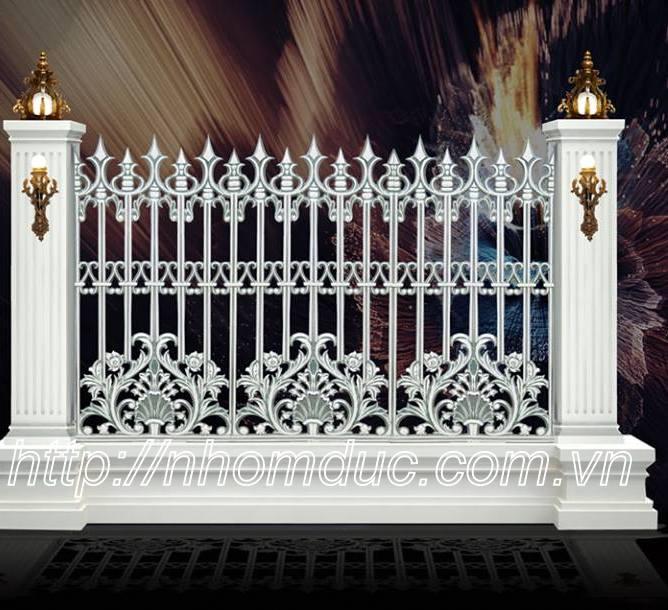 hàng rào đẹp, hàng rào biệt thự