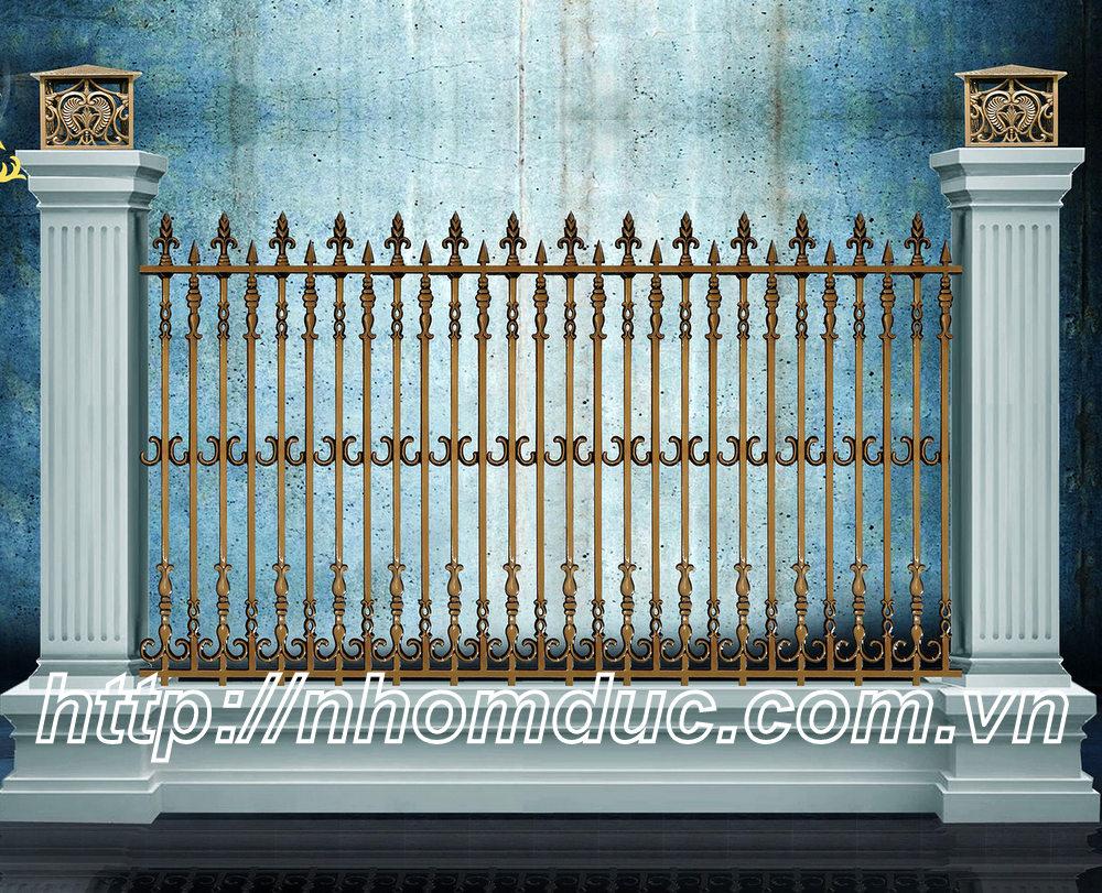 Báo giá hàng rào nhôm đúc hợp kim