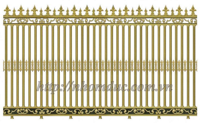 Báo giá loại hàng rào theo các mẫu loại này và các mẫu tương tự giá từ 4,300,000VNĐ/m đến