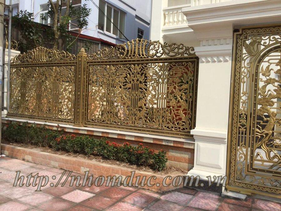 Hàng rào nhôm đúc hợp kim HR 120, Hàng rào nhôm đúc biệt thự