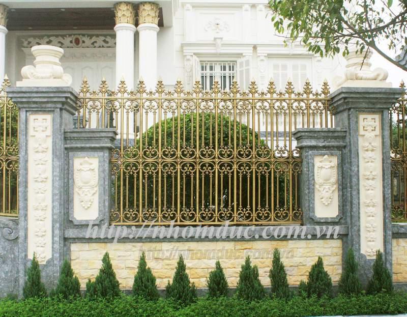 Lựa Chọn Mẫu Hàng Rào Nhôm Đúc Sang Trọng Cho Biệt Thự