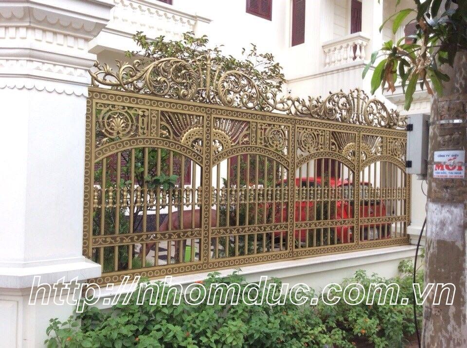 Hàng Rào Nhôm Đúc Cao Cấp