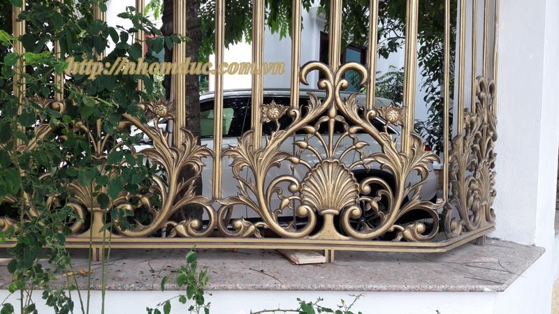 Hàng rào nhôm đúc, Mẫu hàng rào nhôm đúc đẹp