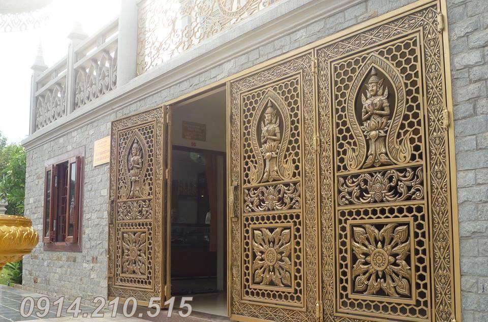 Ưu điểm cửa nhôm đúc, là sản phẩm cửa cổng được đúc bằng hợp kim nhôm