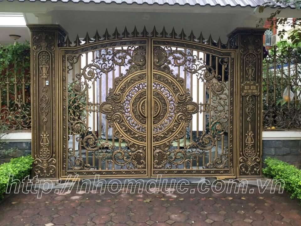 Ưu điểm cửa nhôm đúc, Cong nhom duc là sản phẩm cửa cổng