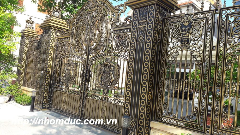 Cổng Nhôm Đúc, Cửa Cổng Nhôm Đúc Sang Trọng