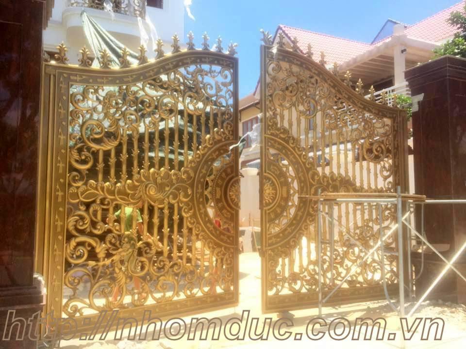 Quy trình gia công chế tạo cổng cửa nhôm đúc