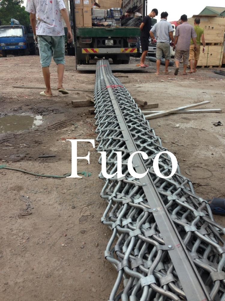 Cửa cuốn lưới mắc võng tĩnh điện