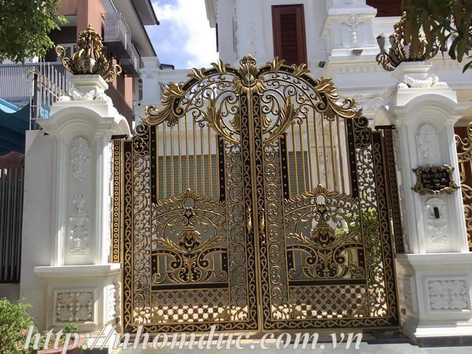 cổng nhôm đúc giá rẻ Fuco Dĩ An, cổng nhôm đúc giá rẻ Fuco Tân Uyên, cổng nhôm đúc giá rẻ Fuco Bến Cát
