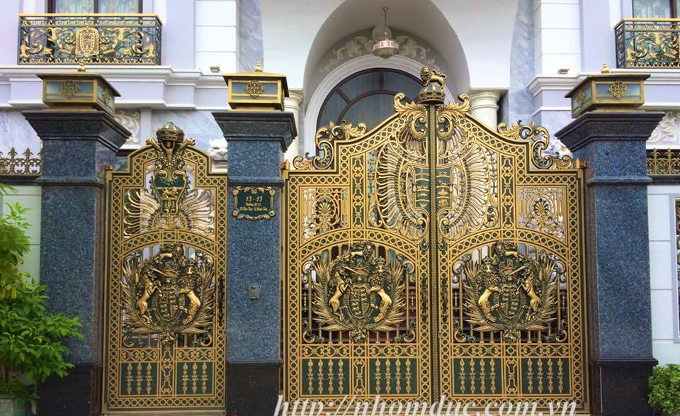 cổng nhôm đúc giá rẻ Fuco La Gi, cổng nhôm đúc giá rẻ Fuco Cà Mau, cổng nhôm đúc giá rẻ Fuco Cao Bằng, cửa nhôm đúc Đắk Lắk