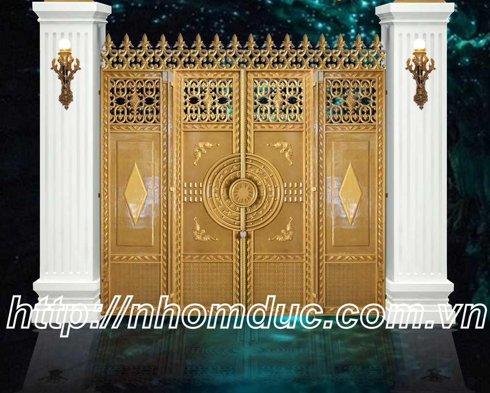 cổng nhôm đúc, hàng rào nhôm đúc, ban công nhôm đúc, bông gió nhôm đúc, cầu thang nhôm đúc