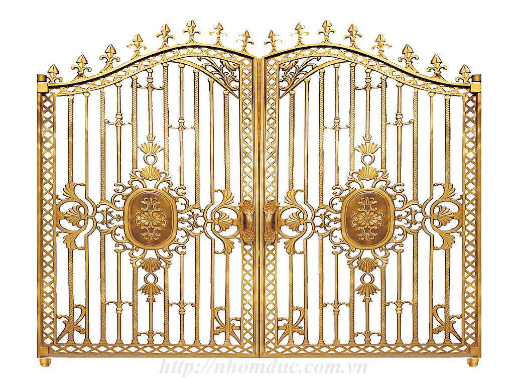 Thiết kế nhôm đúc, tư vấn thiết các công trình cổng nhôm đúc