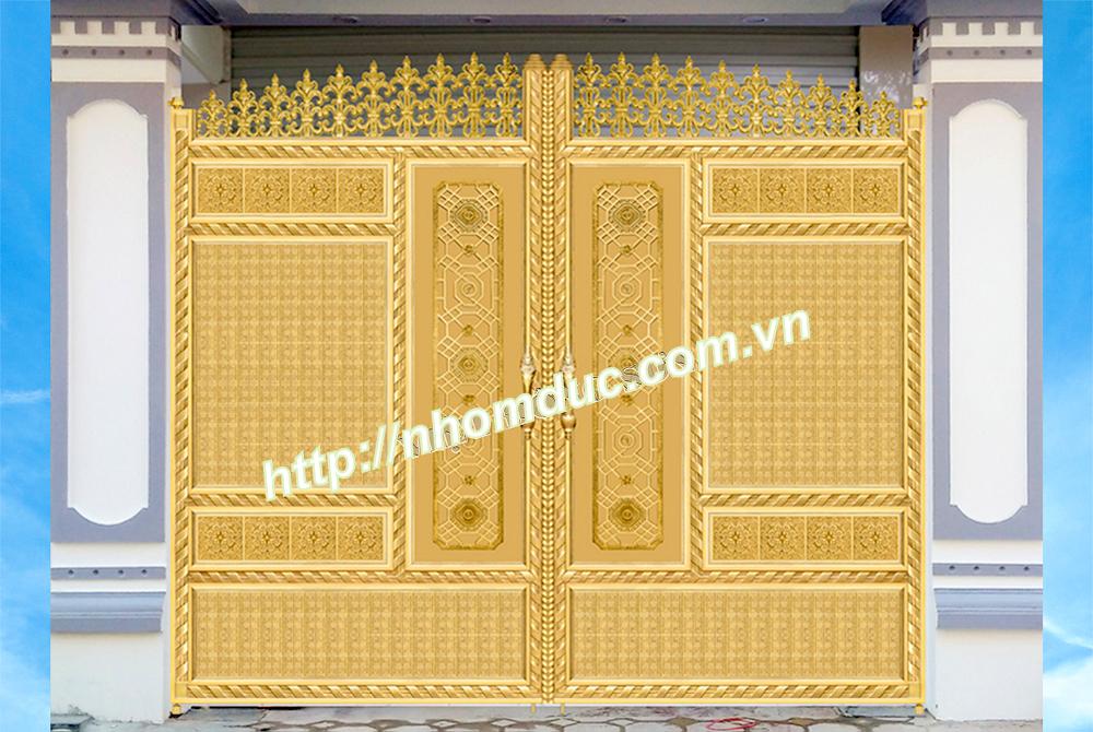 Thiết kế nhôm đúc, thiết các công trình cổng, cửa nhôm đúc