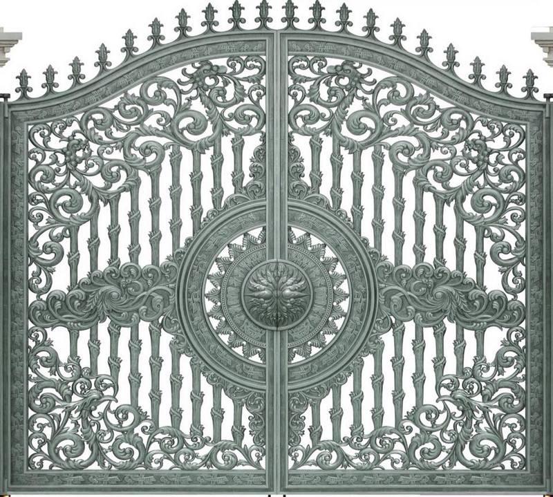 Báo giá các mẫu thiết kế cửa cổng nhôm đúc hợp kim