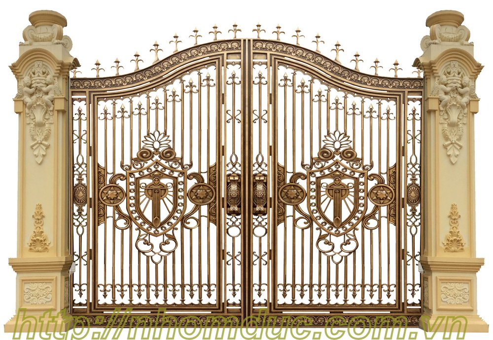 Thi công hàng rào nhôm đúc tại hà nội