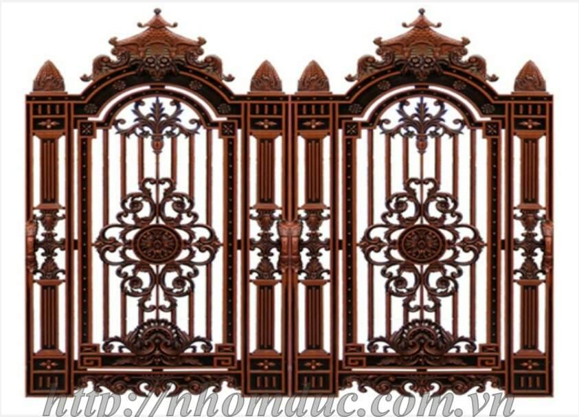 Bộ sưu tập cửa cổng nhôm đúc dành cho nhà phố