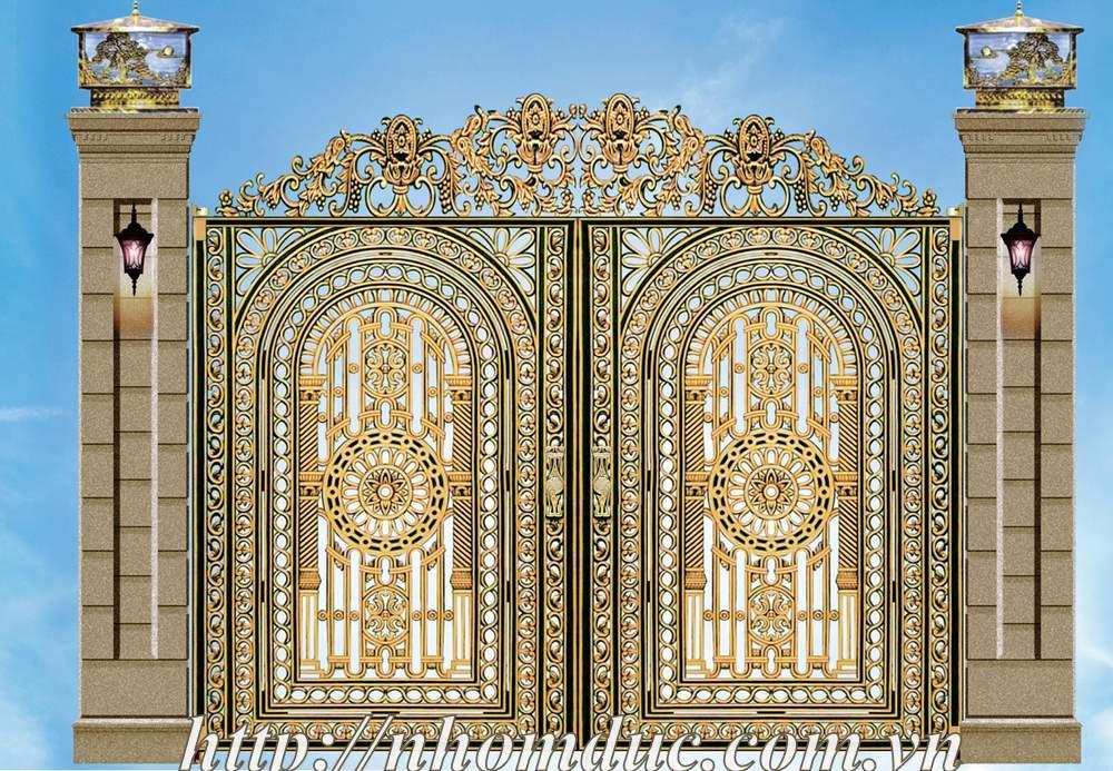Cổng nhôm đúc Tại Thành Phố Hồ Chí Minh