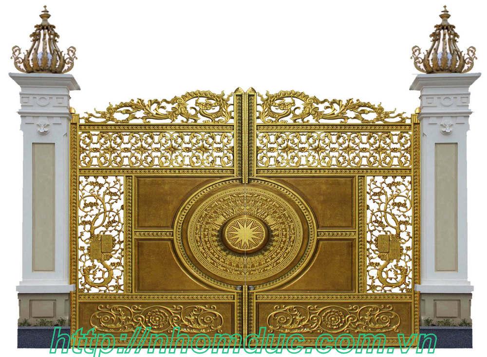 Cổng nhôm đúc GAT 168, cửa nhôm đúc hà nội, các dòng sản phẩm nhôm đúc như cửa nhôm đúc