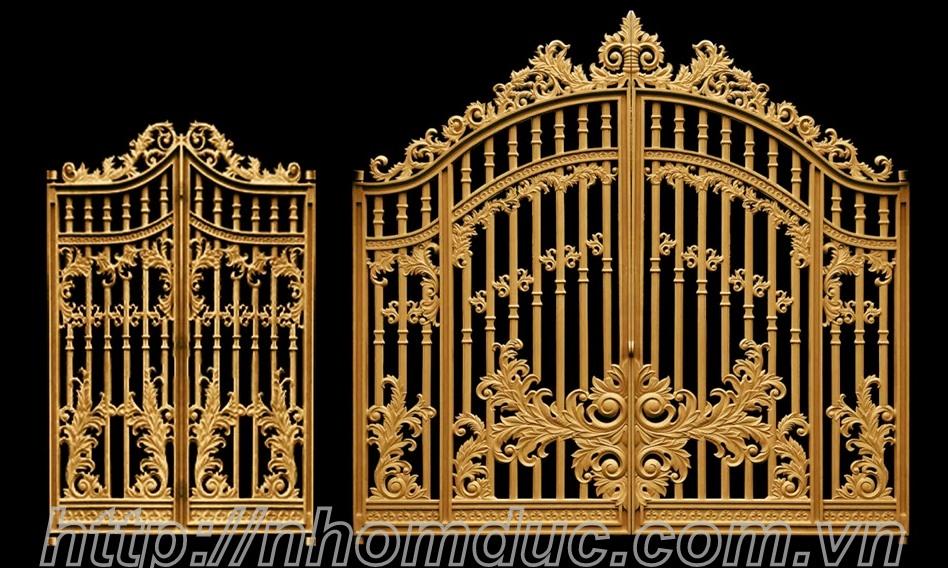 Mẫu cổng biệt thự đẹp nhất Hà Nội, mẫu cổng nhà đẹp, mẫu cổng đúc