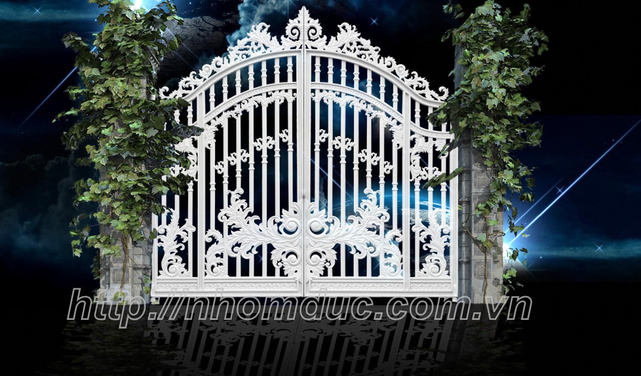 Cửa cổng nhôm đúc chuyên thiết kế cửa cổng nhôm đúc cao cấp uy tín, chất lượng hàng đầu. Các mẫu cổng nhôm đúc