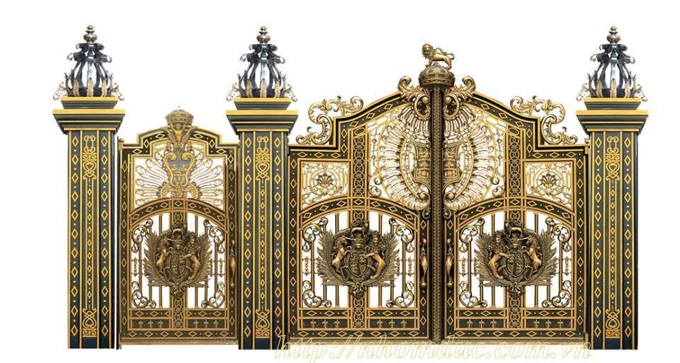 các mẫu thiết kế nhôm đúc sang trọng tại Hà Nội và thành phố hồ chí minh. Khách hàng xem