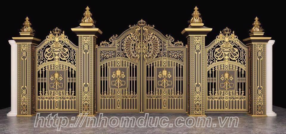 Chọn cổng biệt thự đẹp và sang trọng khi thiết kế biệt thự