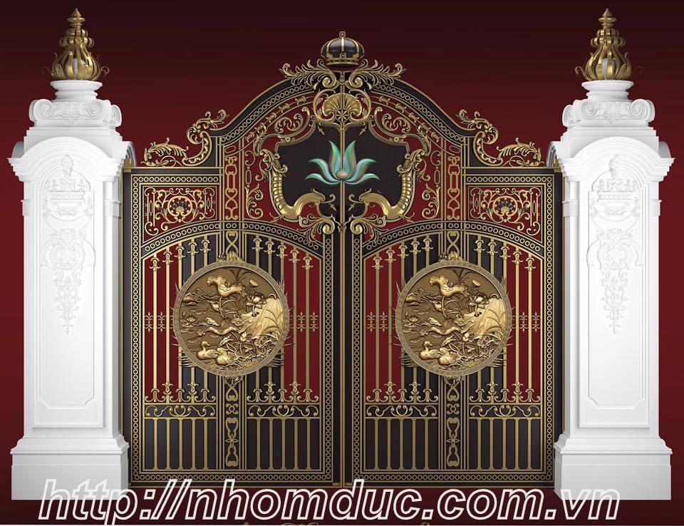 Tư vấn chọn cửa cổng đẹp cho biệt thự