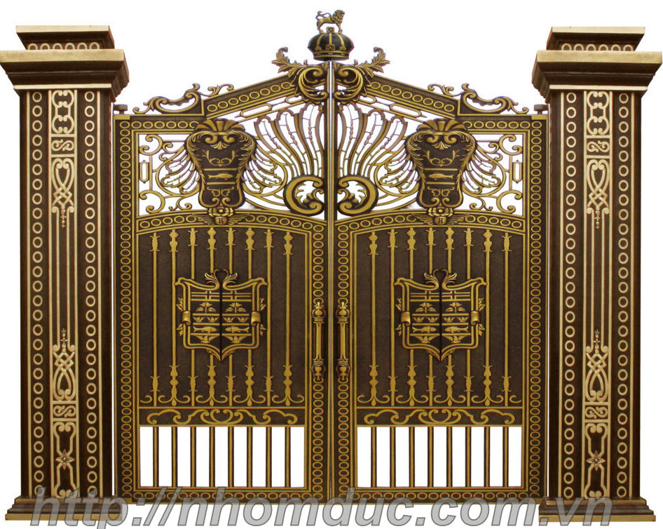 Xu hướng thiết kế cổng biệt thự cho nhà biệt thự năm 2018