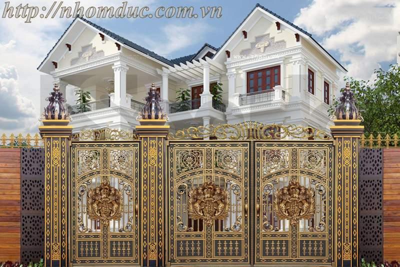 Chiêm ngưỡng cổng biệt thự, tường rào