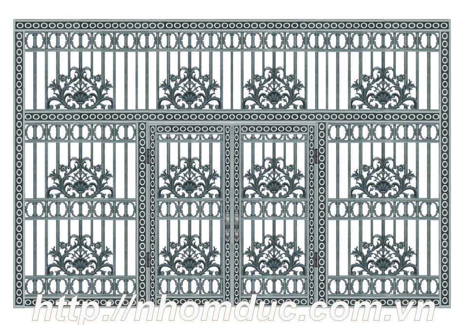 mẫu cổng đẹp cho biệt thự và nhà phố năm 2018