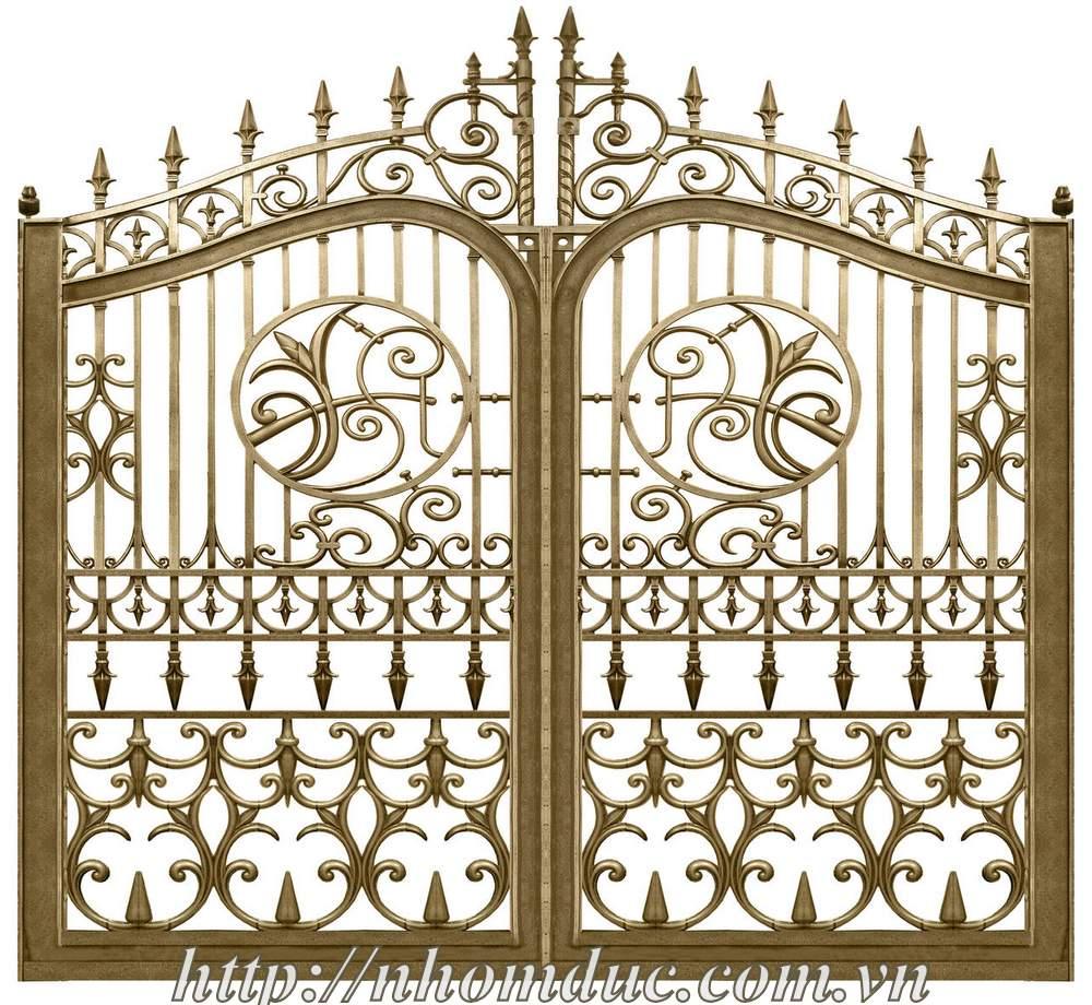 mẫu cổng biệt thự đẹp của siêu đại gia khu biệt thự
