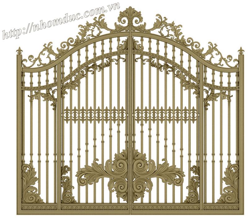 thiết kế cổng giúp ngôi nhà thêm khang trang và an toàn