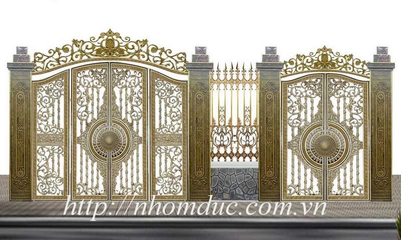 Xu hướng trong việc thiết kế cổng nhôm đúc