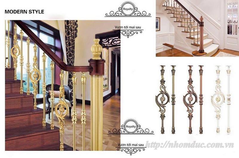 Cầu thang nhôm đúc cao cấp phù hợp với các không gian biệt thự,nhà vườn…Nhôm đúc Fuco luôn luôn lắng nghe để thiết kế và sản xuất các sản phẩm