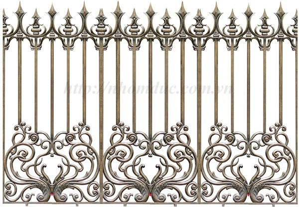 Hàng rào được đúc bằng hợp kim nhôm, có độ bền vĩnh cửu, kiểu giáng ... Các sản phẩm hợp kim nhôm đúc của Fuco được bảo hành và bảo trì nhiều năm.